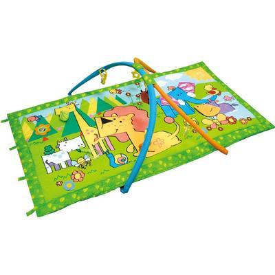 Canpolbabies Play Mat Animal kingdom