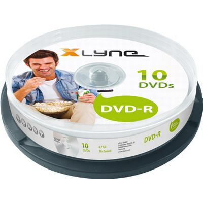 Xlyne DVD-R 4.7GB 16x Spindle 10-Pack