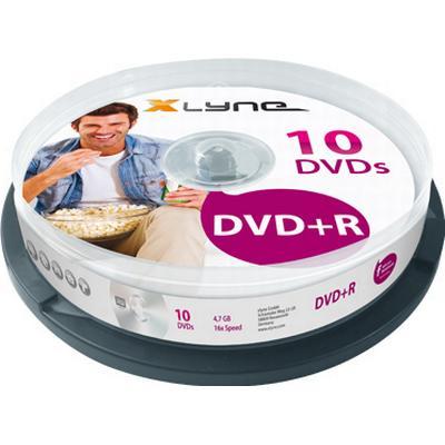 Xlyne DVD+R 4.7GB 16x Spindle 10-Pack