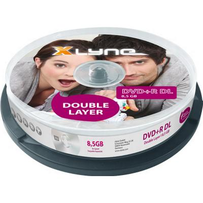 Xlyne DVD+R 8.5GB 8x Spindle 10-Pack