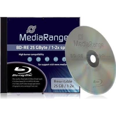 MediaRange BD-RE 25GB 2x Jewelcase 1-Pack