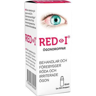 visine ögondroppar mot röda ögon