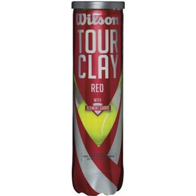 Wilson Tour Clay Red 1 Can