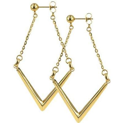 a0ad15c4a undefined priser på Astrid & Agnes Verona - Gold Plated Earrings ...