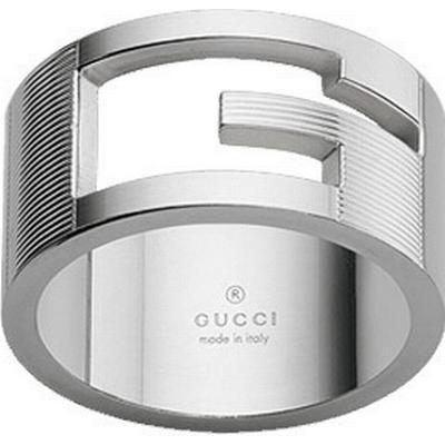 Gucci Branded Bred Ring - Silver - Hitta bästa pris f4b6eb5c691b2