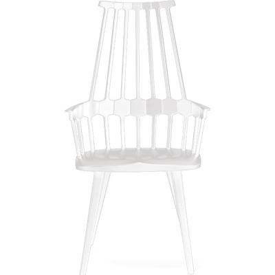 Kartell Comback with lacquered wooden legs