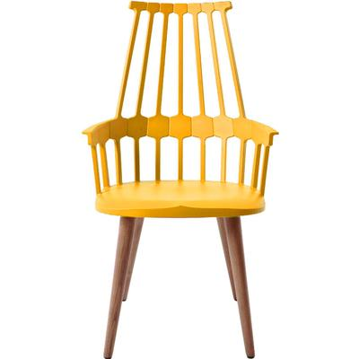 Kartell Comback with wooden legs