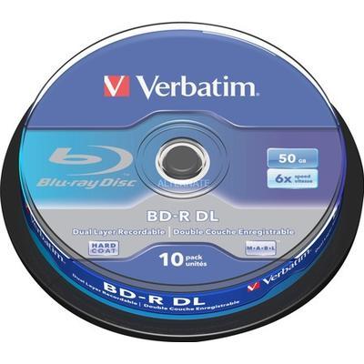 Verbatim BD-R 50GB 6x Spindle 10-Pack