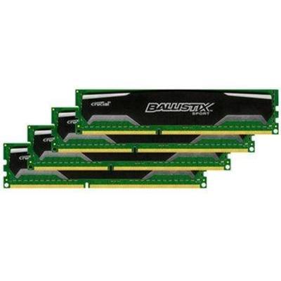 Crucial Ballistix Sport DDR3 1600MHz 4x4GB (BLS4CP4G3D1609DS1S00BEU)