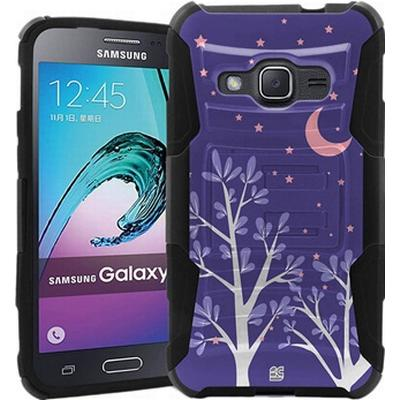 Beyond Cell Shell Case Armor Combo Purple Night (Galaxy J1 2016)