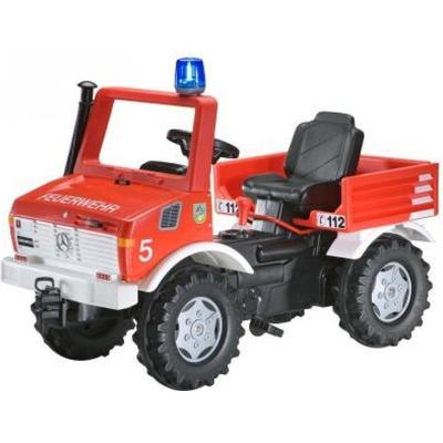 Rolly Toys Fire Brigade Unimog With Gears & Handbrake