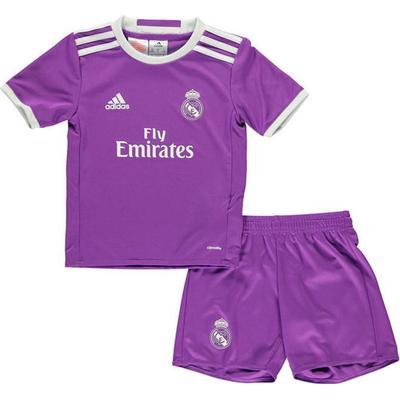 Adidas Real Madrid Away Jersey Kit 16/17 Youth