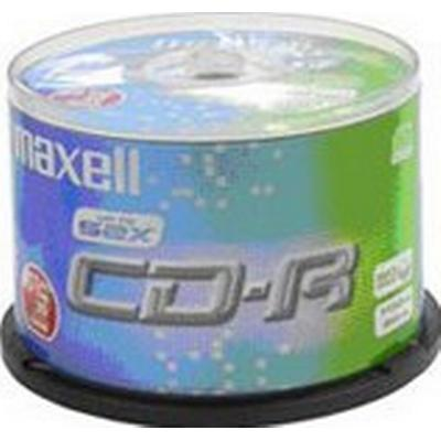Maxell CD-R 700MB 52x Spindle 50-Pack