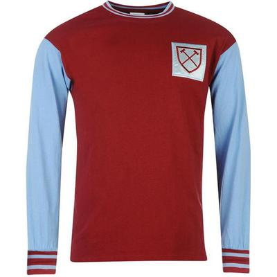 Score Draw West Ham United 1966 Home LS Jersey Sr
