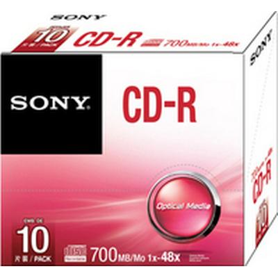 Sony CD-R 700MB 48x Slimcase 10-Pack