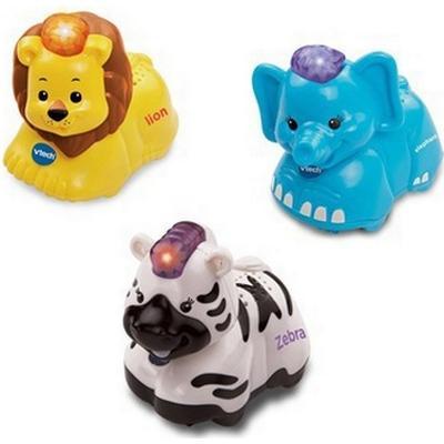 Vtech Toot-Toot Animals 3 Pack (Elephant, Zebra, Lion)