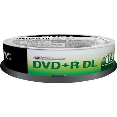 Sony DVD+R 8.5GB 8x Spindle 10-Pack
