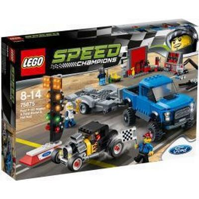 Lego Speed Champions Ford F-150 Raptor & Ford Model A Hotrod 75875
