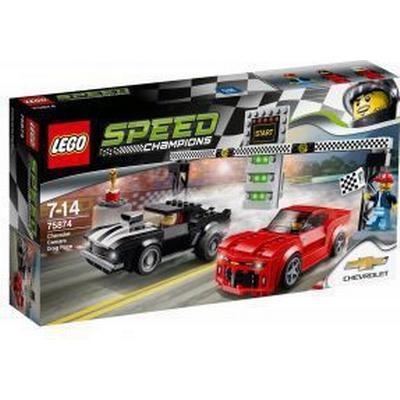 Lego Speed Champions Chevrolet Camaro Dragrace 75874