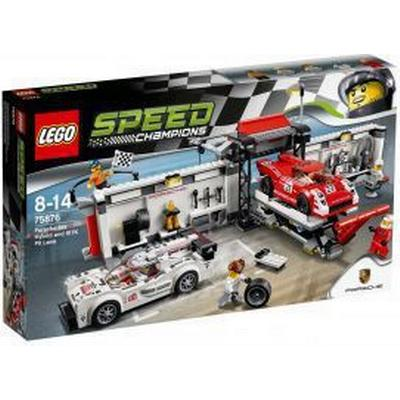 Lego Speed Champions Porsche 919 Hybrid And 917K Pit Lane 75876