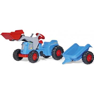 Rolly Toys Kiddy Classic Tractor with Rolly Kid Trailer & Frontloader