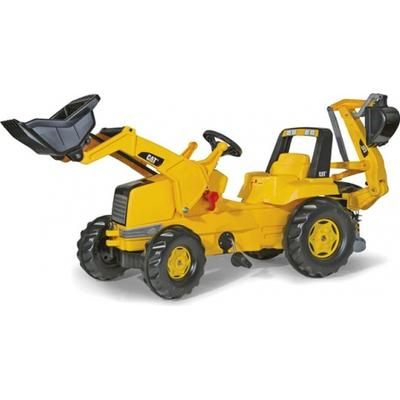 Rolly Toys CAT Tractor with Frontloader & Rear Excavator