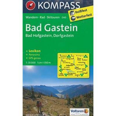 Bad Gastein Bad Hofgastein Dorfgastein 1 35 000 Karta 2013