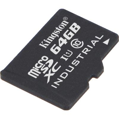 Kingston Industrial Temperature MicroSDXC UHS-I U1 64GB