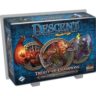 Fantasy Flight Games Descent: Journeys in the Dark Second Edition: Treaty of Champions