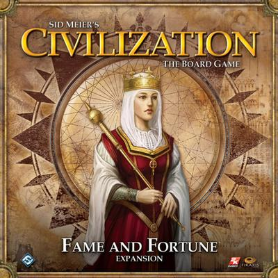 Fantasy Flight Games Sid Meier's Civilization: Fame & Fortune (Engelska)