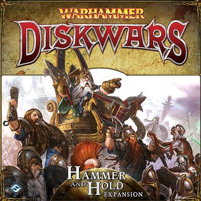 Fantasy Flight Games Warhammer: Diskwars Hammer & Hold