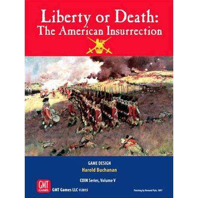 GMT Games Liberty or Death: The American Insurrection (Engelska)