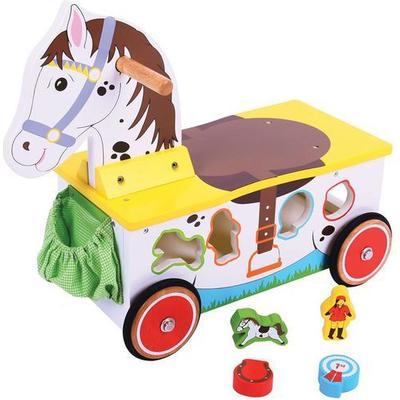 Bigjigs Horse Ride On