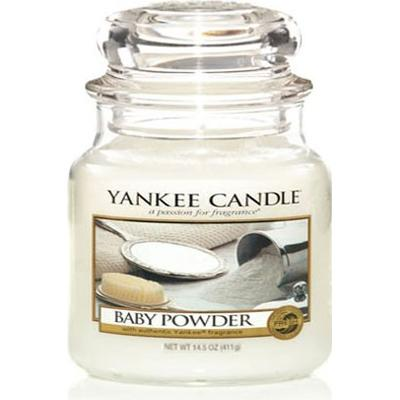 Yankee Candle Baby Powder 411g Doftljus