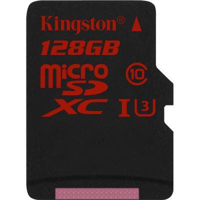 Kingston MicroSDXC UHS-I U3 128GB