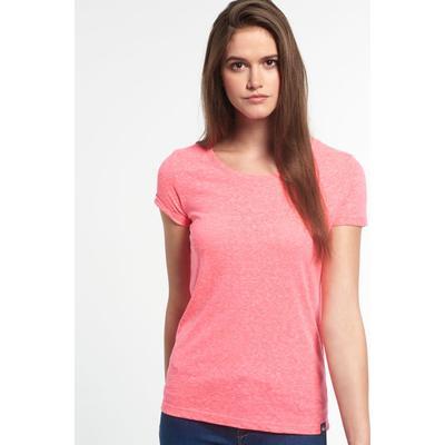 cf878fd5c Superdry Super Sewn Rugged Lace T-shirt Bubblegum Pink Snowy (3407441)