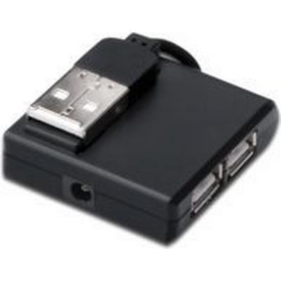 MicroConnect MC-USB2.0HUB4P 4-Port USB 2.0 Extern