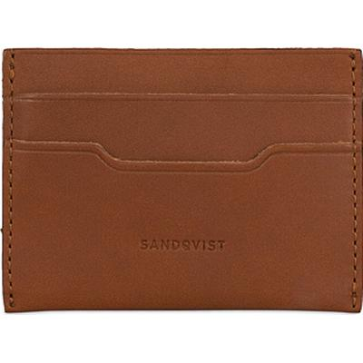 Sandqvist Buck Credit Card Case - Cognac