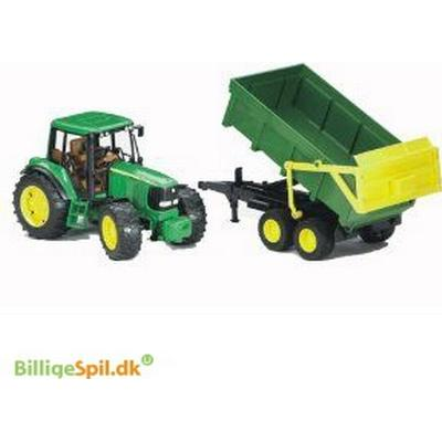 Bruder John Deere 6920 With Tipping Trailer 2058