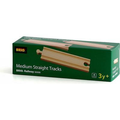Brio Medium Straight Tracks 33335