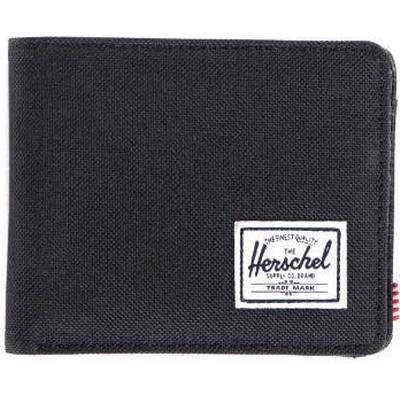 Herschel Hank Pebbled Synthetic Leather - Black (10199-00001-OS)
