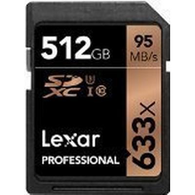 Lexar Media SDXC Professional UHS-I U3 95MB/s 512GB (633x)