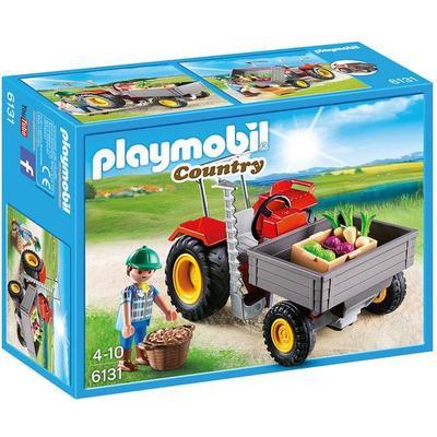 Playmobil Harvesting Tractor 6131