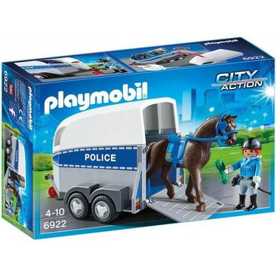 Playmobil Police with Horse & Trailer 6922