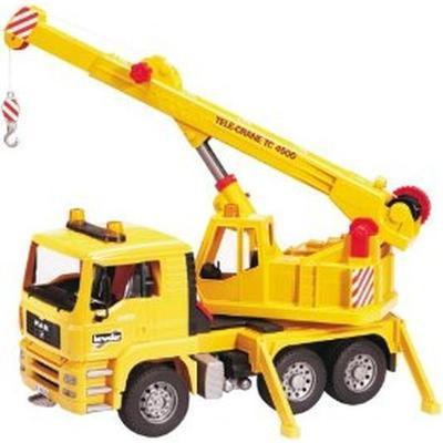 Bruder Man Crane Truck 2754