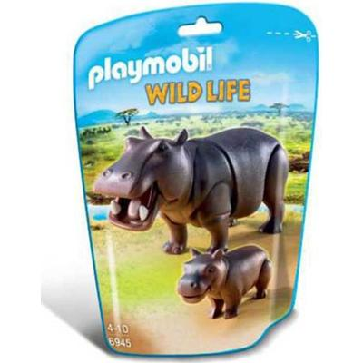 Playmobil Hippo with Calf 6945
