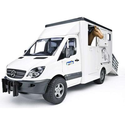 Bruder Mercedes Benz Sprinter Animal Transporter 02533