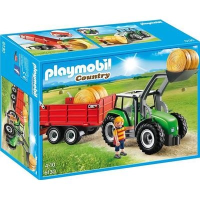 Playmobil Large Tractor with Trailer 6130