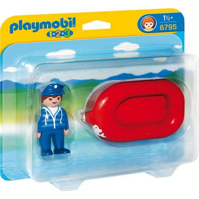 Playmobil Man with Water Raft 6795