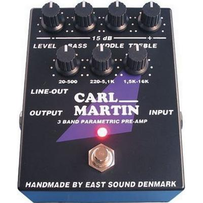 Carl Martin 3 Band Parametric Preamp